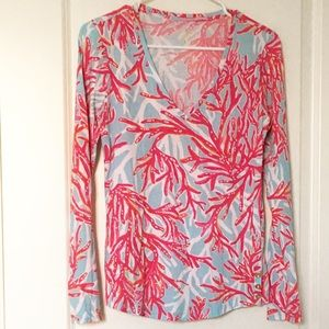Lilly Pulitzer Nellie Long Sleeve Top